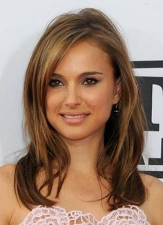 2015 great brown with little bit of highlights Best Hair Color for Hazel Brown Eyes