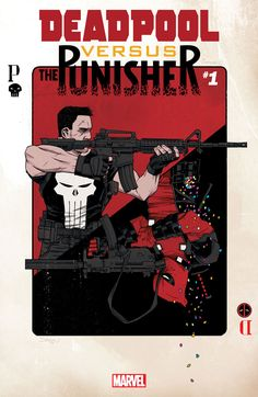 Marvel's Deadliest Denizens Square Off in DEADPOOL VS. THE PUNISHER #1!, Marvel's Deadliest Denizens Square Off in DEADPOOL VS. THE PUNISHER #1! New York, NY—January 4th, 2017 — It's the grudge match of the century...,  #Deadpool #DeadpoolversusPunisher #DeclanShalvey #FredVanLente #JordieBellaire #Marvel #PerePerez #Punisher #ThePunisher