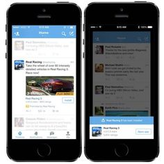 New type of mobile ads to install apps directly from Twitter: Mobile app promotion
