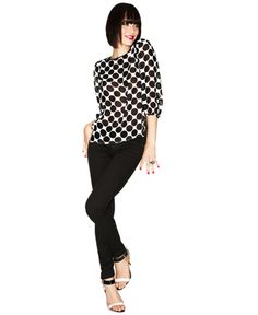 Hot off the runway ... straight to your closet! Shop Fashion Star at Macys. FASHION STAR (HERNANDEZ) BLOUSE, STUNNING IN BLACK & WHITE OR SOLID BLUE.