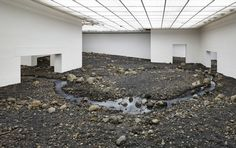 Exit Through the Riverbed - Olafur Eliasson doesn't mind if you touch his art. You can even step on it, if you want. For Eliasson, who is known for his immersive, multisensory works, engagement is key.