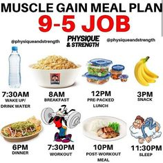 Muscle Gain Meal Plan For Job! For see more of fitness life images visit us on our website ! Gain Weight Men, Weight Gain Meals, Weight Gain Meal Plan, Healthy Weight Gain, Lose Weight, Tips To Gain Weight, Weight Gain Workout, Weight Loss, Food To Gain Muscle