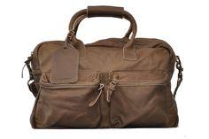 Cowboysbag THE BAG Cowboys Bag large Ledertasche von Cowboysbelt olive Marken Cowboysbelt