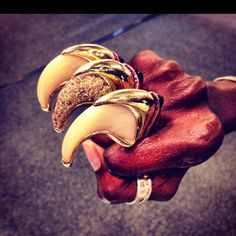 Theodoros Tiger claws ring old) Tiger Claw, Claws, Jewelery, Gothic, Rings For Men, Gems, Fantasy, Fun, Jewelry