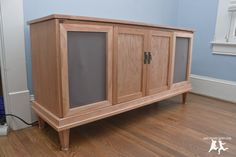Old House Crazy - DIY - Restore an Old Stereo Console - 23