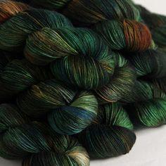 Hedgehog Fibres - Pod sock yarn