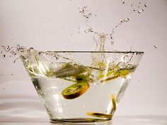 Splash in green n.2. Art photography by StegoPhotoStore on Etsy, €7.90