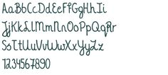 KG A Thousand Years font download free (truetype)
