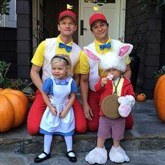 déguisement d'Halloween pour famille