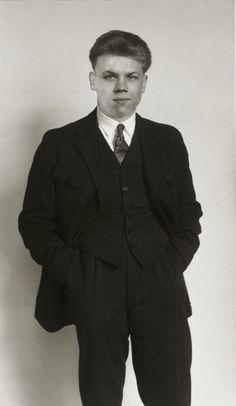 August Sander. Member of the KPD, Communist Party of Germany [Richard Creutzburg]. c. 1926.