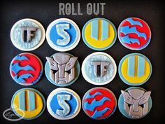 These Transformers Cakes and Cupcakes Are Ready to Roll Out!