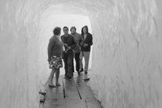 Touristen am Rhonegletscher