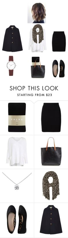 """""""College outfit"""" by goddessathena07 on Polyvore featuring Falke, T By Alexander Wang, Crea Concept, Madewell, Tiffany & Co., Calvin Klein, Aéropostale, Yves Saint Laurent and DKNY"""