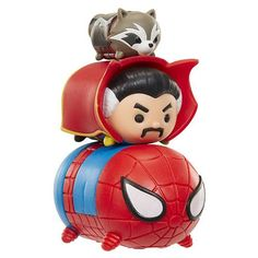 Marvel Tsum Tsum 3 Pack Series 1 Figures - Spider-Man, Doctor Strange and Rocket Raccoon - Zolo's Room - 3 Rocket Raccoon, Doctor Strange, Cute Characters, Iron Man, Spiderman, Avengers, Anime, Merry, Marvel