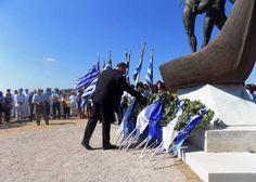 Απόδοση Τιμών στους Σαλαμινομάχους: Μόνο η Χρυσή Αυγή τίμησε τους Αθάνατους Ήρωες του Έθνους - Θερμή υποδοχή από τους κατοίκους! Φωτογραφίες, Βίντεο