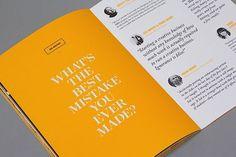 Editorial Design Inspiration: 99U Quarterly Mag No.4