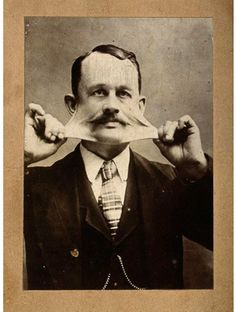 Some really great oddity photos on this site.    Portrait of James Morris - 'The Elastic Skin Man' - 19th century  via Wellcome Images