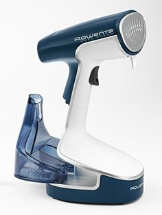 Rowenta X-Cel Steam Powerful Handheld Garment Steamer Stainless Steel Soleplate with Accessories, Blue Fabric Steamer, Clothes Steamer, Thing 1, Wild Hair, Wrinkle Remover, Free Clothes, Things That Bounce, Cool Hairstyles, Williams Sonoma