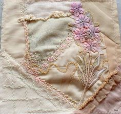 I ❤ crazy quilting, beading & embroidery . . . CQJP 2013, The January block is finished! ~By Suztats