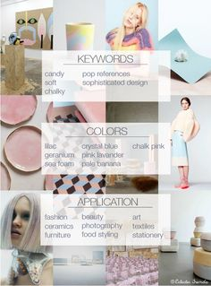 Soft Candy Color Trend S/S15-Eclectic Trends