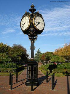 Clock in Augusta Georgia   Flickr - Photo Sharing!