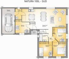 Idée relooking cuisine  Natura 100 L de Maisons France Confort  6 pièces  100 m