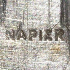 Napier 1920s - 1930s Block Mark