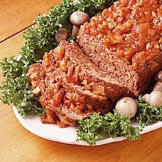 Country Herbed Meat Loaf Recipe  I doubt could compare to mine but I will give it a try