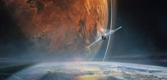ArtStation - Leaving the world, Jessica Rossier