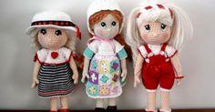 Patron gratuito amigurumi, traducción al español del patron Candy Dolls del blog AmigurumiBB
