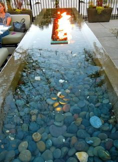 diy water features | Fountains.Water Features / Fab fire and Water Table ~DIY ...