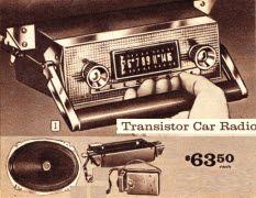 1961 - Transistor Car Radio