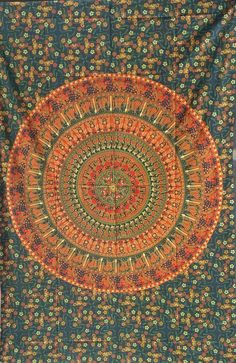 Radiant shades of vibrant color in a beautiful traditional pattern make for a very majestic and beautiful tapestry Elephant Tapestry, Blue Tapestry, Indian Tapestry, Bohemian Tapestry, Mandala Tapestry, Mandala Throw, Photo Wall Hanging, Tapestry Wall Hanging, Wall Hangings