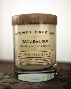 Soy candle by Sydney Hale Co. – this shop is fill of such unique flavors. #roost