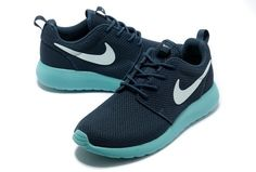 Roshe Run Yeezy Homme Marine Pour Nike Bleu Vert