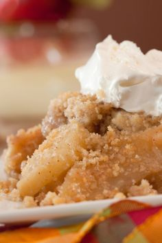: Classic Apple Crisp Recipe for my money, this is the best Fall Recipes, My Recipes, Dessert Recipes, Cooking Recipes, Favorite Recipes, Recipies, Vegan Recipes, Just Desserts, Delicious Desserts