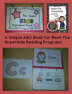 This Alphabet Book is unique to the Superkids Reading program as it introduces the letters in the same sequence.