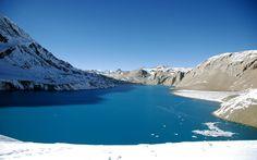 Fond d'écran hd : lac de montagne