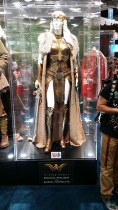 Wonder Woman Costume ~ Queen Hippolyta