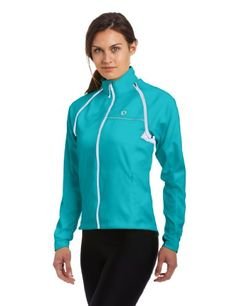 Pearl Izumi Women's Elite Barrier Convertible Cycling Jacket, Scuba Blue, Large -- For more information, visit image link.