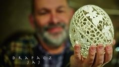 Victorian Lace Egg Carving Video from the Feathered Nest, Bishop Hill, IL Carved Eggs, Egg Crafts, Victorian Lace, Egg Art, General Crafts, Process Art, Egg Shells, Easter Eggs, Carving