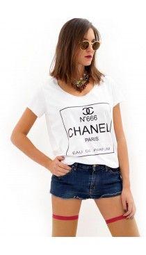 Chanel Paris t-shirt