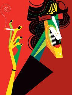 Ilustraciones de famosos por Pablo Lobato - Taringa!