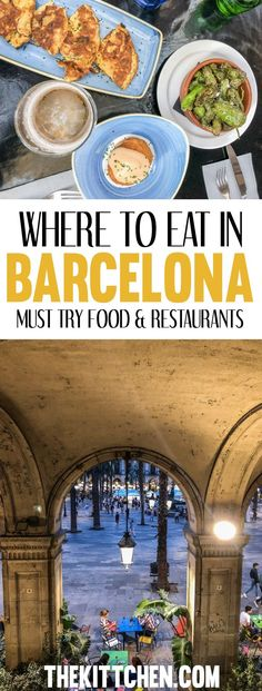 Barcelona is a foodies heaven so make sure you don't miss some of the best spots to find the most delicious food in the city! #barcelona #spain.  ***************************************** What to do in Barcelona | Barcelona Spain | Barcelona Spain travel | Europe destinations | Spain destinations | Spain travel | Barcelona travel tips | Barcelona travel guide | Things to do in Spain | What to eat in Barcelona | What to eat in Barcelona Spain | What to eat in Barcelona food