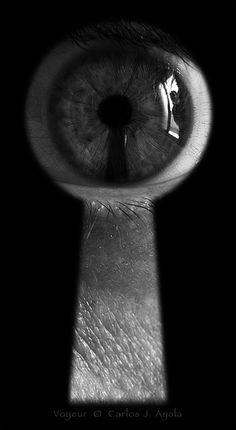 eye in keyhole - Google Search