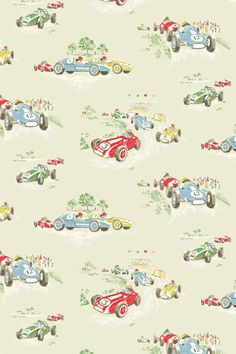 Vintage Cars - Kids Wallpaper Ideas & Designs (houseandgarden.co.uk)