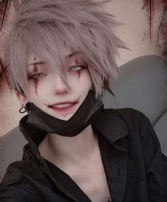 Plz someone to learn me how to smile. Cosplay Anime, Epic Cosplay, Male Cosplay, Cosplay Makeup, Amazing Cosplay, Cosplay Outfits, Cosplay Girls, Inuyasha Cosplay, Photographie Portrait Inspiration