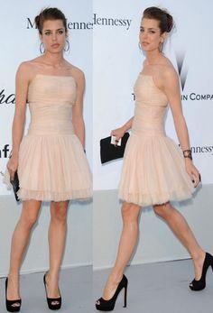 Charlotte Casiraghi - Chanel dress
