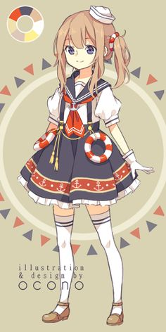[CLOSED] ADOPTABLE | Sailor by ocono.deviantart.com on @DeviantArt