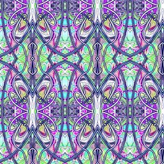 On the Other Side of This Fence fabric by edsel2084 on Spoonflower - custom fabric